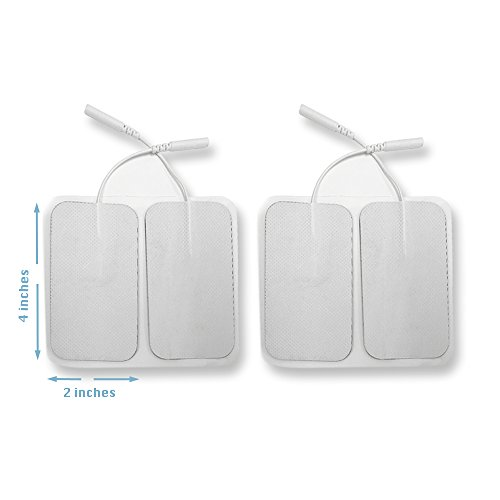 12 Pieces Electrode Pads For Tens Unit Ems Machine Device Massager Premium Quality Self Adhesive