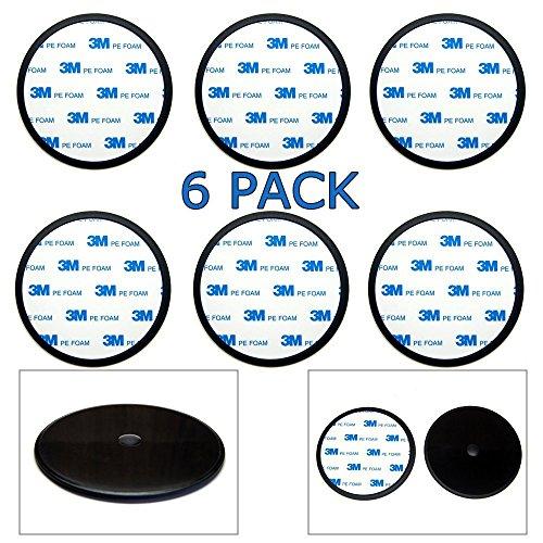Kes Adapter Plate 95mm Circular Self Adhesive Gps Dash